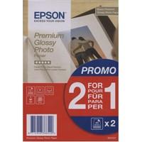 Epson Premium Glossy 255g, 2 x 40 Bl., 10x15