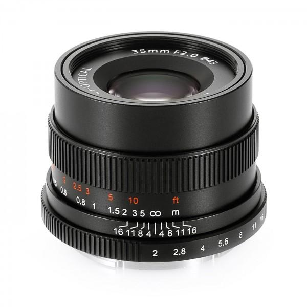 7Artisans 35mm f/2,0 für Sony E (Vollformat)