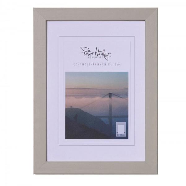 "Peter Hadley ""Amalfi"" Holzrahmen 10x15cm, beige"