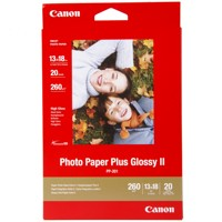Canon PhotoPaper Plus II PP-201 glossy 20 Bl.13x18