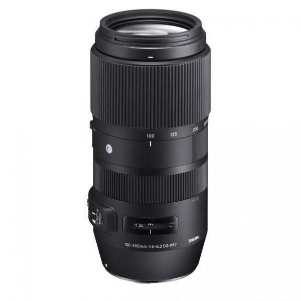 "Sigma 5-6,3/100-400mm DG OS HSM ""C"" f. Canon EF"