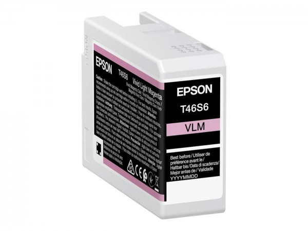 Epson Tinte T46S6 vivid light magenta