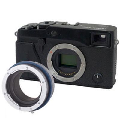 Novoflex Adapter Contax/Yas. Objekt. an Fuji X PRO
