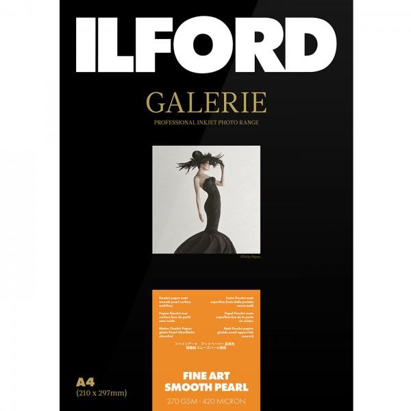 Ilford PrestigeFineArt Smooth Pearl 270g10x15 50Bl