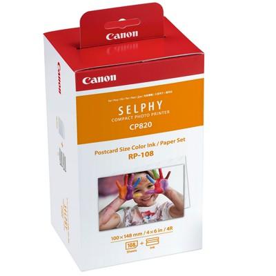 Canon RP-108 Papier + Farbband 108 Blatt 10x15