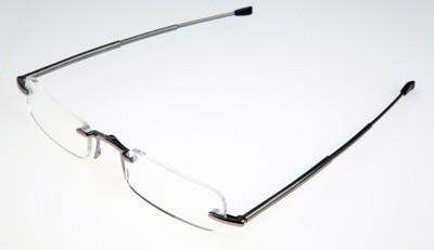 max:3 Faltbrille grau, ohne Gläser
