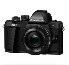 Olympus OM-D E-M10 Mark II+14-42EZ Pancake schwarz