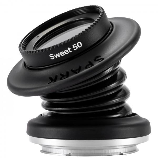 Lensbaby Spark 2.0 + Sweet 50 für MFT