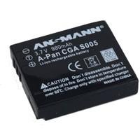 Ansmann Akku CGA S005 für Panasonic