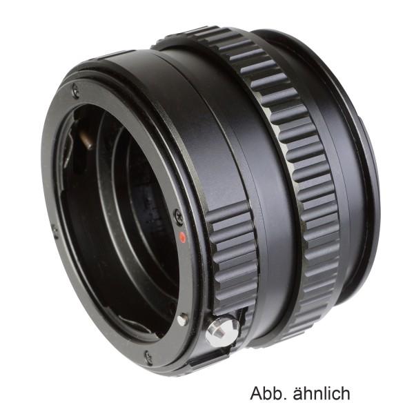 B.I.G. Makrofokus-Adapter Nikon F(G) an Canon EF-M