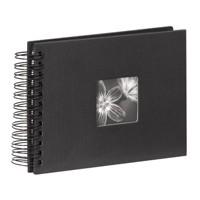 Hama Spiralalbum Fine Art schwarz,22x17, 50 Seiten