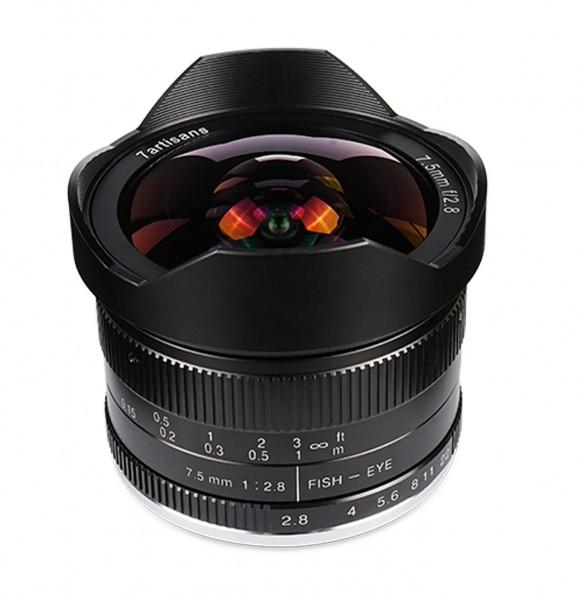 7Artisans 7,5mm f/2,8 für Canon EF-M