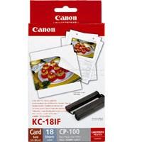 Canon KC-18IF Papier + Tinte Photosticker 18 Bl.