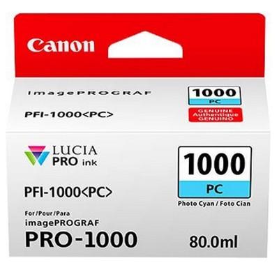 Canon PFI-1000PC Foto-cyan