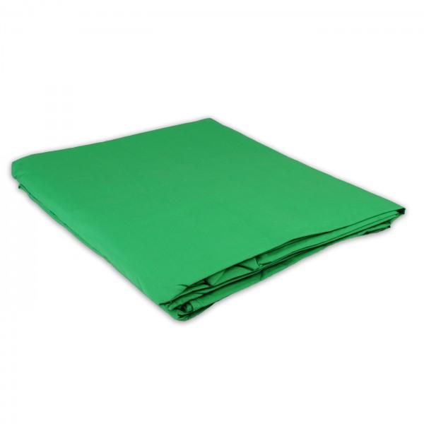 HELIOS Stoffhintergrund grün, 300x700cm