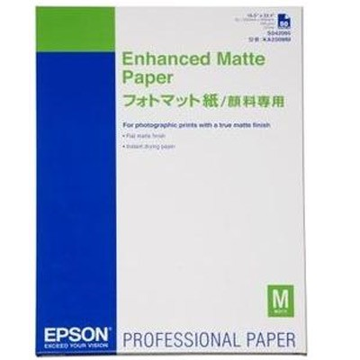 Epson Enhanced Matte 192g, 250 Bl., A4