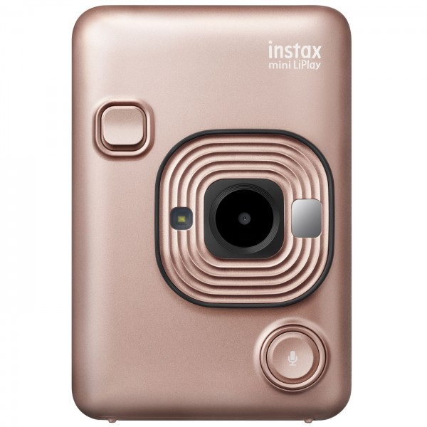 Fuji Instax Mini LiPlay Sofortbildkam., blush gold