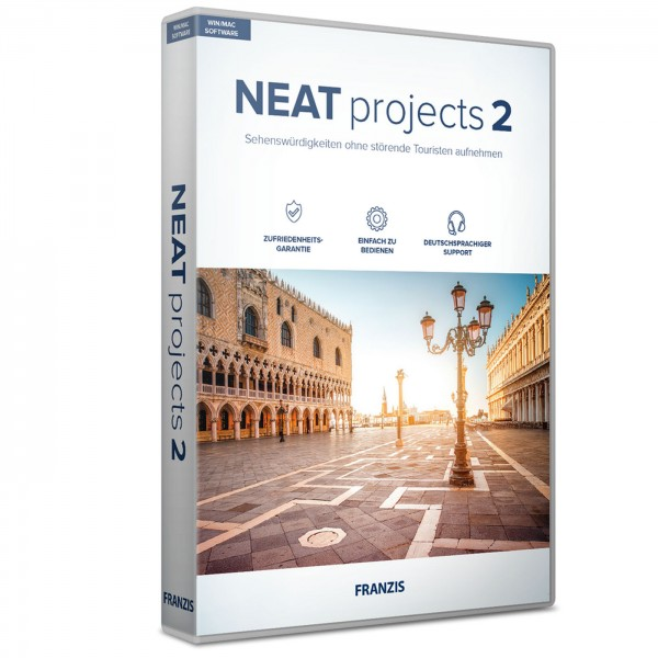 Franzis NEAT projects 2 Software