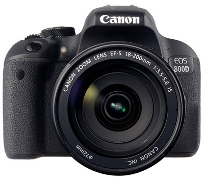 Canon EOS 800D Set + EF-S18-200mm IS STM