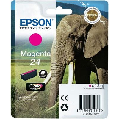 Epson Tinte (T2423) Magenta 24 Claria Photo HD