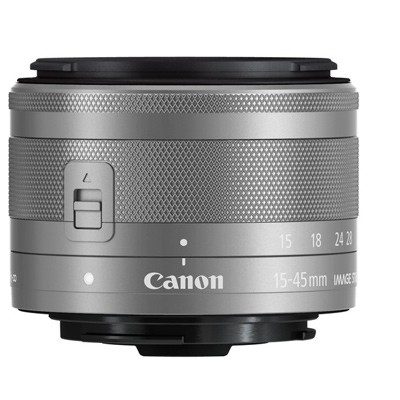 Canon EF-M 3,5-6,3/15-45mm IS STM, silber