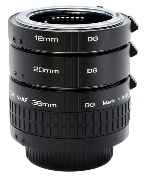 Kenko Zwischenring-Set (12/20/36mm) für Nikon AF