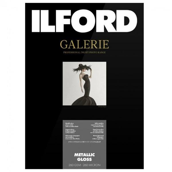 Ilford Galerie Prest.Metallic Gloss 260g. A3+ 50Bl