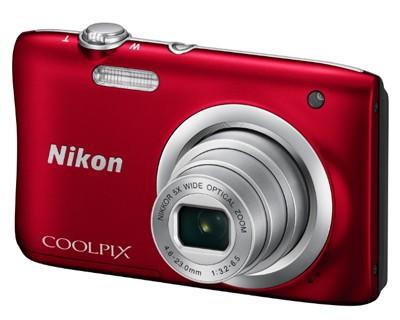 Nikon Coolpix A100, rot