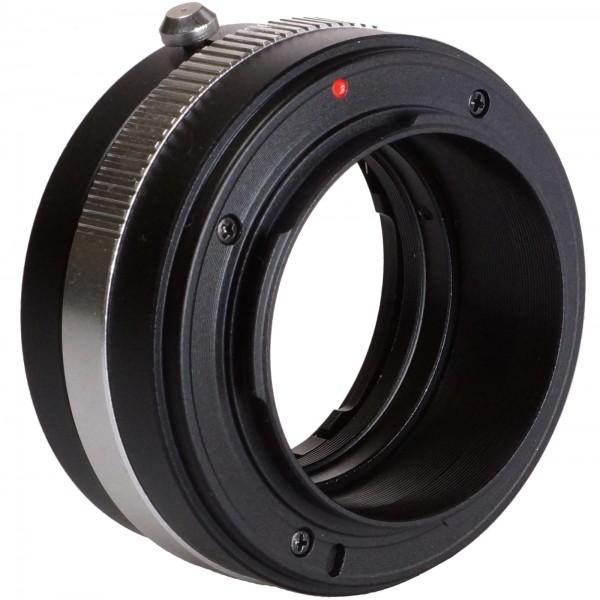 B.I.G. Objektivadapter Nikon F (G) an Sony E
