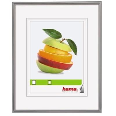 "Hama Kunststoff-Rahmen ""Sevilla"" 24x30cm, grau"