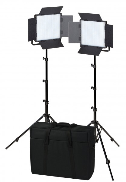 NANLITE LED-Flächenleuchte 600CSA Set