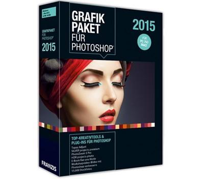 Franzis Grafikpaket für Photoshop 2015