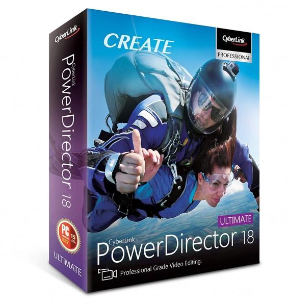 CyberLink PowerDirector 18 Ultimate Software