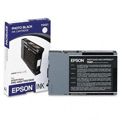 Epson Tinte (T543100) schwarz für Pro 4000, 9600