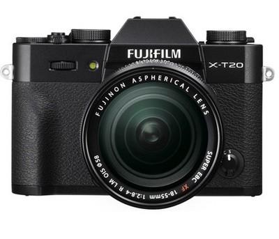Fuji X-T20 Set + XF 18-55mm R LM OIS, schwarz