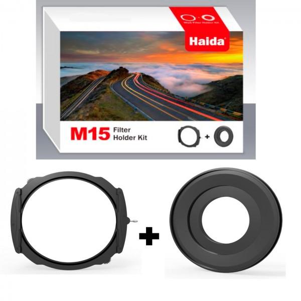 Haida M15 Kit f Olympus MZ AL ED 7-14 Adap.+Halter