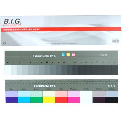 B.I.G. Stufengraukeil und Farbkarte # 14 36cm