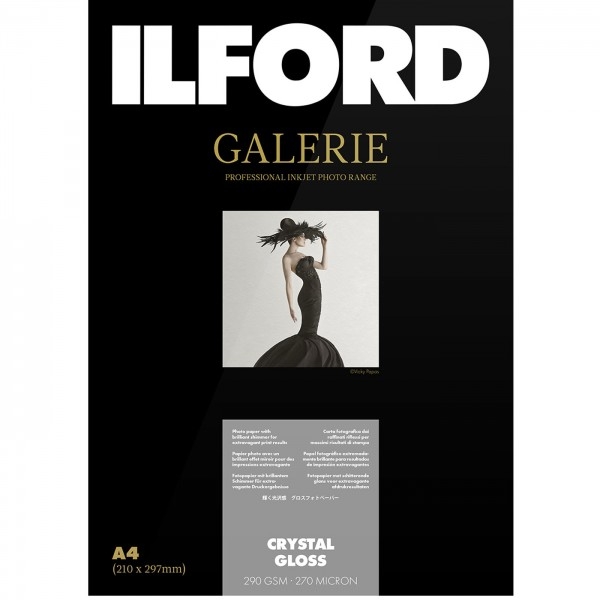 Ilford Galerie PrestigeCrystalGloss 290g13x18 50Bl