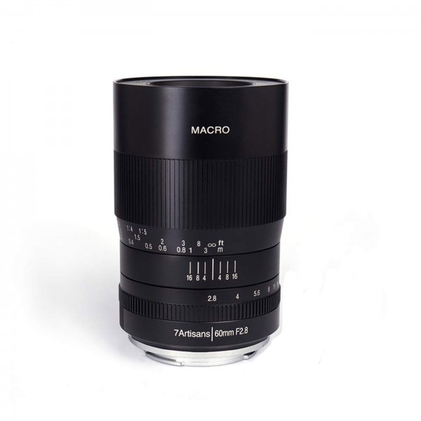 7Artisans 60mm f/2,8 Macro für Fuji X