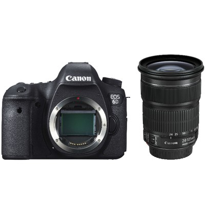 Canon EOS 6D Kit inkl. 3,5-5,6/24-105mm IS STM