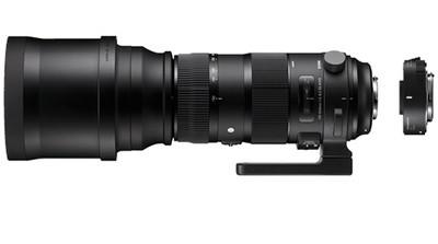 "Sigma 5-6,3/150-600 DG OS HSM ""S""+TC-1401 f. Canon"