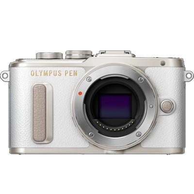 Olympus PEN E-PL8 Gehäuse, silber/weiß