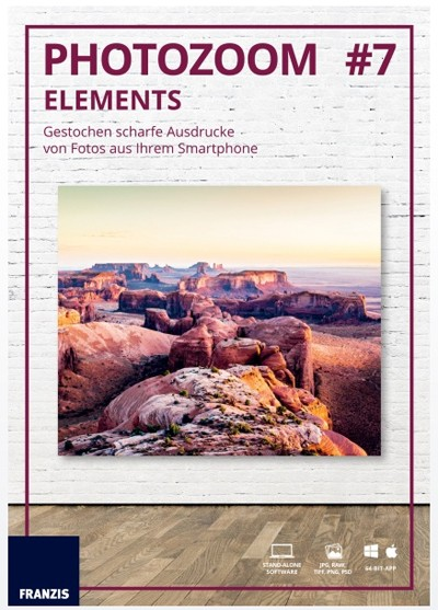 Franzis PhotoZoom elements #7 Software