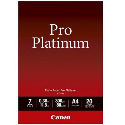 Canon PT-101 Fotopap.ProPlatinum 300g, A4, 20 Bl.
