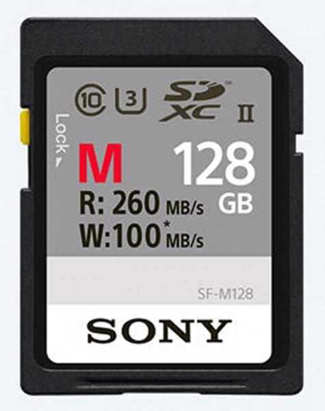 Sony SDXC SF-M Serie Class10 UHS-II U3 128GB