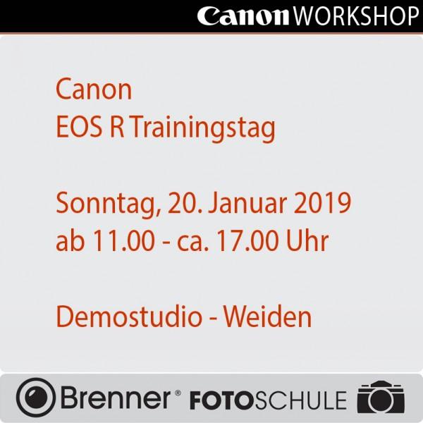 Canon EOS R Trainingstag