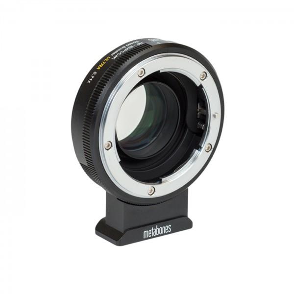 Metabones Speed Booster ULTRA Nikon G an BMPCC4K
