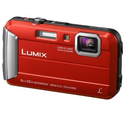 Panasonic Lumix DMC-FT30, rot