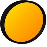 Aufsteck-Filter orange A 19 mm