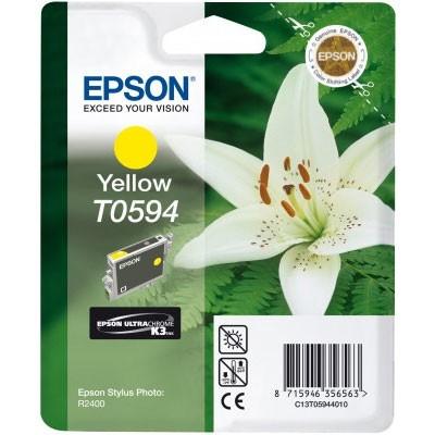Epson Tinte (T0594) gelb für R2400